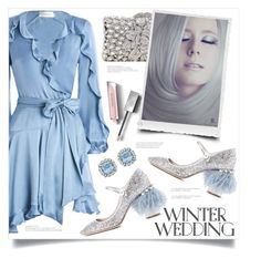 """☆*¤winter magic*¤☆"" by anja-m ❤ liked on Polyvore featuring Zimmermann, Miu Miu, Burberry, contest, babyblue, winterwedding and polyvoreset"