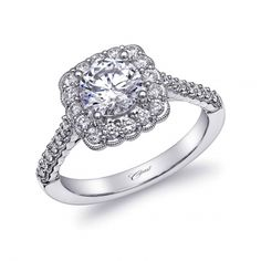Engagement ring #LC10195 - Coast Romance Collection - Coast Diamond Bridal Engagement Ring Collections