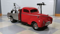 1941 Willys Tow Truck Scooter