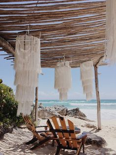 Azulik - Tulum, México Although age-old throughout thought, the particular pergola has become suffering from Diy Deco Rangement, Holidays To Mexico, Beach Cafe, Natural Interior, Boho Home, Backyard, Patio, Jolie Photo, Bungalows