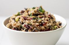Wild Rice Pilaf with Cranberries and Pistachios - Circulon Canada