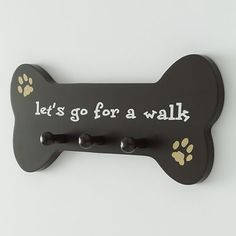 dog bone wall hook