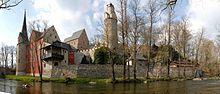 Stein Castle (German: Burg Stein or Burg und Schloss Stein) is Saxon castle located southeast of Zwickau in the village of Stein in the municipality of Hartenstein on the rocky banks of the Zwickauer Mulde in the east German state of Saxony.