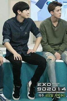 EXO | 140925 | Chanyeol & Sehun | Mnet EXO '90:2014' Ep.6 Preview Images | Facebook