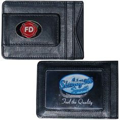 "Checkout our #LicensedGear products FREE SHIPPING + 10% OFF Coupon Code ""Official"" Firefighter Leather Cash & Cardholder - Officially licensed Military, Patriotic & Firefighter product Genuine fine grain leather wallet Slim style wallet with lots of storage Windowed ID slot and magnetic money clip that will not damage your cards Metal Firefighter emblem with enameled team colors - Price: $22.00. Buy now at https://officiallylicensedgear.com/firefighter-leather-cash-cardholder-slmc20"