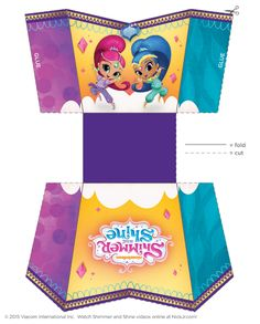 2 of 2--- http://www.nickelodeonparents.com/shimmer-and-shine-popcorn-holder/