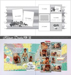 Click through to download the free sketch! | scrapbook | scrapbook idea | scrapbook ideas | scrapbooking ideas | scrapbook layout | scrapbooking | scrapbooking layout | scrapbook page | two page layout | scrapbook sketch | two page scrapbook layout | papercrafting | memory keeping | scrapboook generation