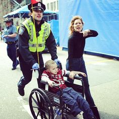 At 2:50 p.m. on Monday April 15, pure evil exploded at the Boston Marathon finish line. 44 pictures that perfectly capture the american spirit