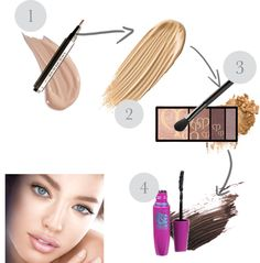make up, created by bubbletoes123 on Polyvore