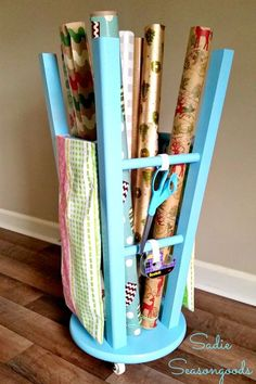 Flip it upside down, and this stool has so much storage potential. Get the tutorial at Sadie Seasongoods.