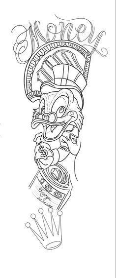 Half Sleeve Tattoo Stencils, Half Sleeve Tattoos Drawings, Forearm Sleeve Tattoos, Hand Tattoos, Fairy Tattoo Designs, Tattoo Sleeve Designs, Cloud Tattoo Sleeve, Dollar Tattoo, Tattoo Outline Drawing