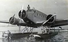 Junkers Ju 52 with floats.