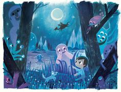 'Monster Hide & Seek' by Joey Chou