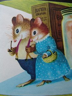 Illustration by Garth Williams - reminds me of the that daddy rabbit book ryan made me read to him thousands of times when he was little