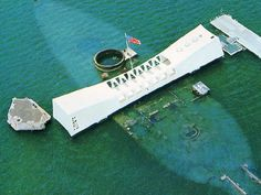 Pearl Harbour, Honolulu what an amazing view