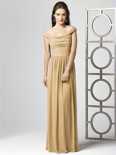 bm's dress. dessy group