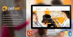 PetVet | Vet Pet Responsive WordPress Theme See more: http://themeforest.net/item/petvet-vet-pet-responsive-wordpress-theme-/13620695?s_rank=10