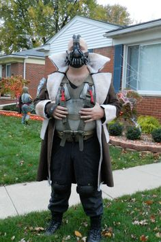 My DIY Bane costume.