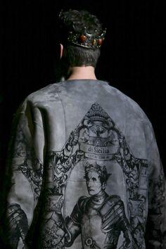 Dolce&Gabbana Men's Winter 2014 collection
