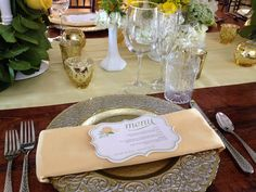 "Custom wedding menu in fancy, filigree frame shape by Dogwood Blossom Stationery. Behind-the-scenes photo from the Ocoee Lakeshore Center's ""Sweet as Tea...Mean to Be"" photo shoot. Styling by Anna Christine Events. Decorative chargers by A Chair Affair. Linens by Over the Top. Floral and decor by Lee James Floral Designs."