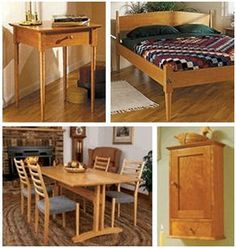Shaker Style Furniture Plans from WOOD Store