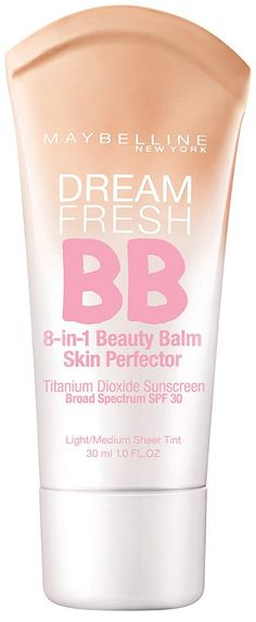 Maybelline Dream Fresh BB Cream - Just switched from the mineral powder foundation and LOVE it!  So much better for the winter months - keeps my skin moist and smooth, and gives great coverage!