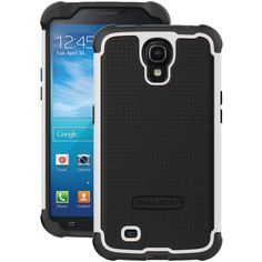 "Ballistic Samsung Galaxy Mega 6.3"" Tough Jacket Case (black And Black And White) - MNM Gifts"