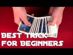 Revealed card trick for beginners! Learn it today with free tutorial! Card Tricks For Beginners, Easy Card Tricks, Playing Cards, Learning, Magic, Playing Card Games, Studying, Teaching, Cards