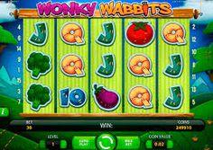 WONKY WABBITS  Jouez Wonky Wabbits, tentez le jackpot en profitant de votre casino en ligne. Retrouvez votre machine a sous gratuite sans telechargement en francais et les centaines d'autres jeux exceptionnels.