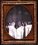 In the nineteenth century some postmortem photographs depicted their subjects as if they were asleep.