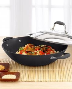 """""""Anolon Advanced 14"""""""" Covered Wok"""" from Macy's on shop.CatalogSpree.com, your personal digital mall."""