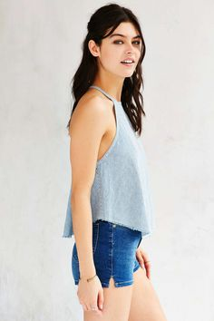 BDG Railroad Striped Tank Top - Urban Outfitters