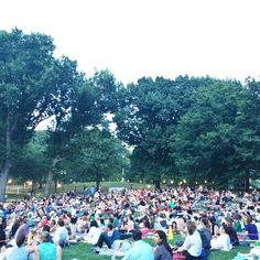 Summer Movie Nights in Central Park #nyc #summer #centralpark