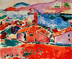 Les toits de Collioure - 1905, H. Matisse