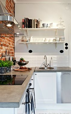 Open planken in de keuken | Éénig Wonen