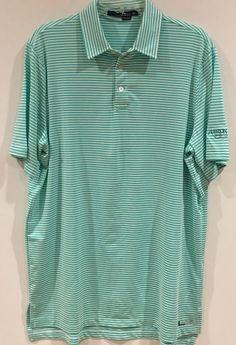 6e7f38c20 Ralph Lauren Audubon Country Club Mens Golf Shirt Louisville Kentucky Size  L
