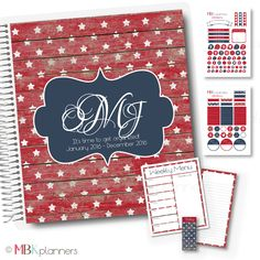 Patriotic Collection (IC32) | MBKplanners