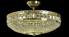 One of our very beautiful and affordable chandeliers - Byzantium 09 in its golden version.