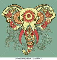 henna elephant designs drawings - Google Search