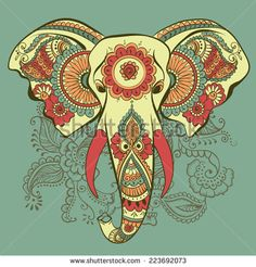 henna elephant designs drawings - Google Search
