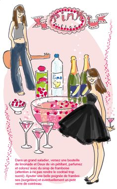 Cocktail léger aux framboises - Tambouille.fr