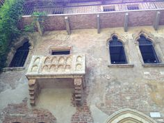 Verona, balcón de Julieta