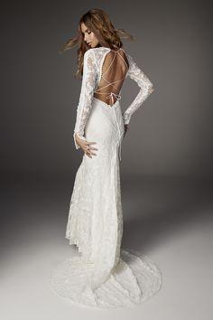 Rue De Seine long sleeve wedding dress - 2017 Love Spell Collection (BoHo wedding dresses)