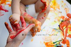 Albuquerque_NM_Family_Photographer_First_Birthday_Celebration_Painting_5
