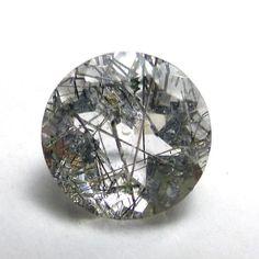 Rutilated Quartz 6mm Loose Gemstone Brilliant Round by saxdsign