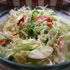 Jalapeño-Apple Slaw with Honey Lime Vinaigrette Recipe on Food52 recipe on Food52