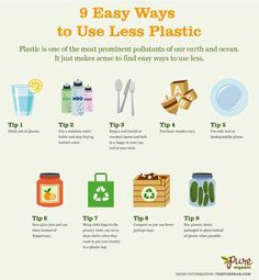 9 easy ways to use less plastic