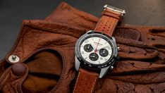 Montblanc Issues Two New Chronographs Inspired by Vintage Auto Racing