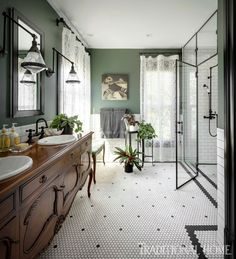 Seattle Historic Revival - Traditional - Bathroom - Seattle - by Michelle Dirkse.- Seattle Historic Revival – Traditional – Bathroom – Seattle – by Michelle Dirkse… Seattle Historic Revival – Traditional – Bathroom -… - Home Interior, Bathroom Interior, Interior Design, Design Bathroom, Victorian Bathroom, Traditional Bathroom, Traditional Interior, Victorian Homes, Victorian Era
