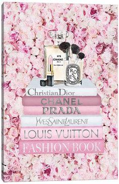 Chanel Wall Art, Chanel Art, Chanel Canvas, Chanel Pink, Fashion Wallpaper, Pink Wallpaper, Iphone Wallpaper, Pink Perfume, Perfume Bottles